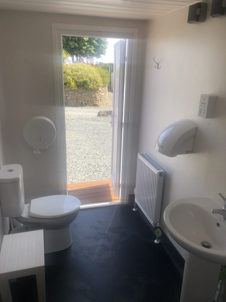 . Installed for 2019 Ladies and Gents Modern Toilet Blocks   Pen Parc